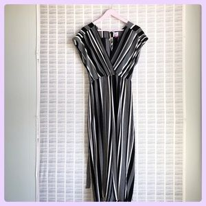 Striped Long Jumpsuit or Romper